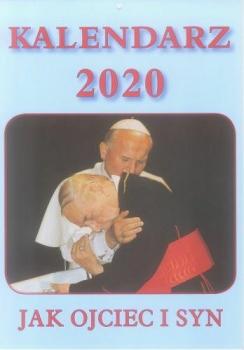 KALENDARZ ADAM 2020 JAK OJCIEC I SYN