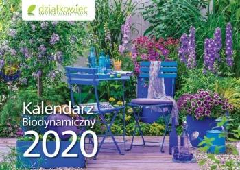 KALENDARZ DZIAŁKOWIEC 2020 ŚCIENNY
