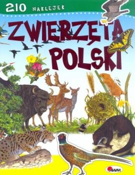 ZWIERZĘTA POLSKI+NAKLEJKI/AWM/