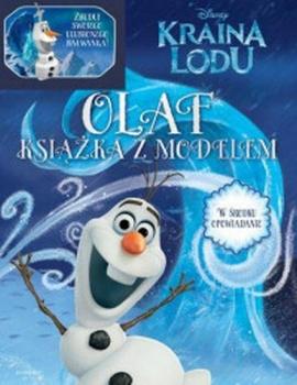 KRAINA LODU .OLAF KSIĄŻKA Z MODELEM