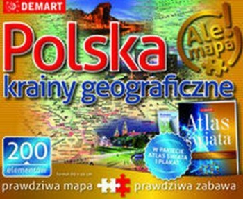 PUZZLE POLSKA KRAINY GEOGRAFICZNE