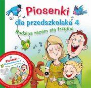 PIOSENKI DLA PRZEDSZKOLAKA + CD CZ.4