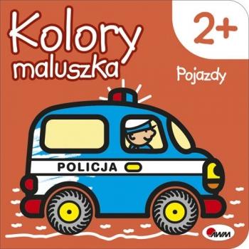 KOLORY MALUSZKA 3 POJAZDY